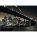 Ravensburger-15835 Jigsaw Puzzle - 1000 Pieces - Brooklyn Bridge, Manhattan