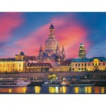 Ravensburger-15836 Jigsaw Puzzle - 1000 Pieces - The Church of Dresde, Germany