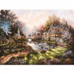 Ravensburger-15944 Jigsaw Puzzle - 1000 Pieces - Dawn Light