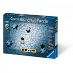 Ravensburger-15964 Jigsaw Puzzle 654 Pieces - Silver Krypt