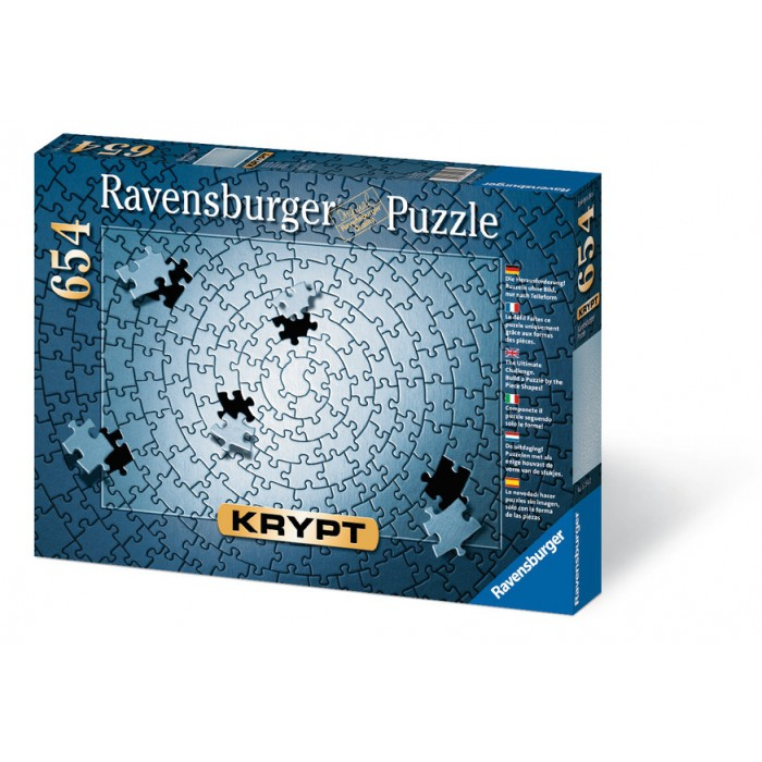 Jigsaw Puzzle 654 Pieces - Silver Krypt