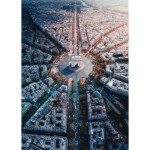 Puzzle  Ravensburger-15990 Paris seen from above
