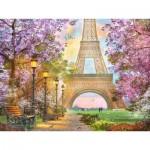 Puzzle  Ravensburger-16000 Love in Paris