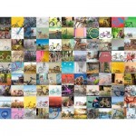 Puzzle  Ravensburger-16007 99 Bikes and More ...