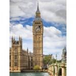 Puzzle  Ravensburger-16009 Findus at Big Ben