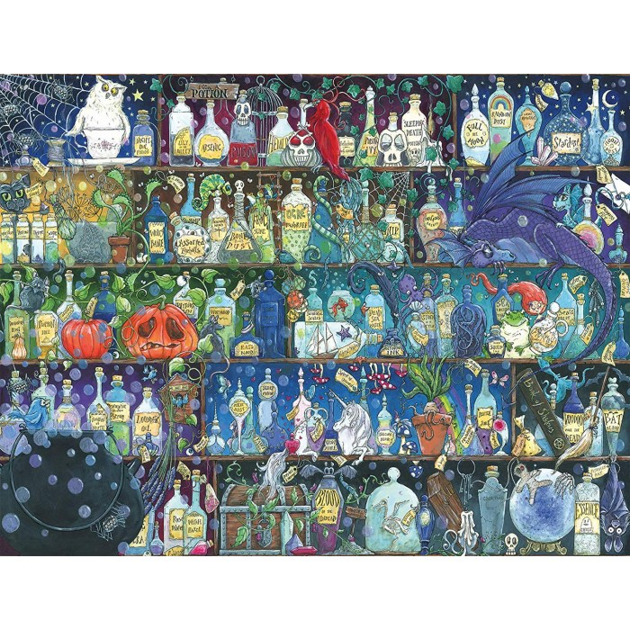 Poison Cupboard 2000 piece jigsaw puzzle