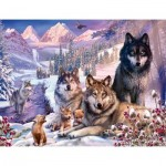 Puzzle  Ravensburger-16012 Wolves in the Snow