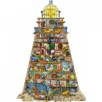 Puzzle  Ravensburger-16098 Colin Thompson - Wonderful Lighthouse