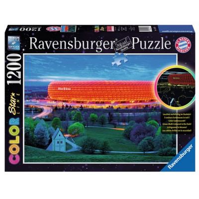 Puzzle Ravensburger-16187 Star Line Color Collection - Allianz Arena