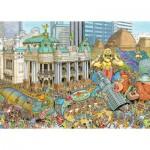 Puzzle  Ravensburger-16194 Cities of the World - Fleroux - Rio de Janeiro
