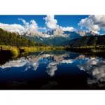 Puzzle  Ravensburger-16197 Reflection on the Lake