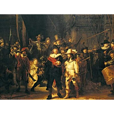 Ravensburger-16205 Jigsaw Puzzle - 1500 Pieces - Rembrandt : The Night Watch