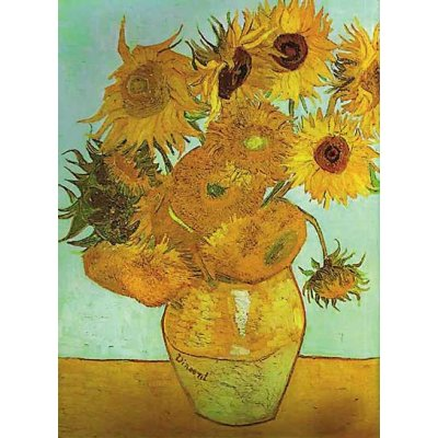 Ravensburger-16206 Jigsaw Puzzle - 1500 Pieces - Van Gogh : The Sunflowers