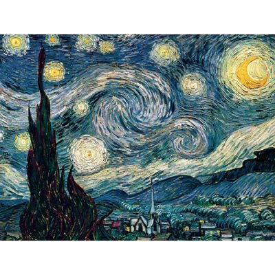 Ravensburger-16207 Jigsaw Puzzle - 1500 Pieces - Van Gogh : Starry Night