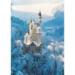 Ravensburger-16219 Jigsaw Puzzle - 1500 Pieces - Neuschwanstein Castle in Winter