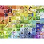 Puzzle  Ravensburger-16322 99 Beautiful Colors
