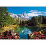 Ravensburger-16341 Jigsaw Puzzle - 1500 Pieces - View over the Cervin Mount
