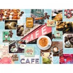 Puzzle  Ravensburger-16346 Coffee and Dessert