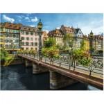 Puzzle  Ravensburger-16357 Summery Strasbourg
