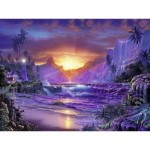 Puzzle  Ravensburger-16359 Sunrise in Paradise