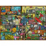 Puzzle  Ravensburger-16361 Colin Thompson - The Noisemaker Shelf