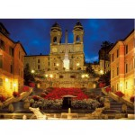 Ravensburger-16370 Jigsaw Puzzle - 1500 Pieces - Piazza di Spagna, Rome, Italy