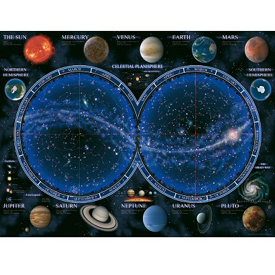 Ravensburger-16373 Jigsaw Puzzle - 1500 Pieces - Astronomy