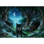 Ravensburger-16434 Escape Puzzle - Wolves