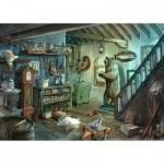 Ravensburger-16435 Escape Puzzle - The Cave of Terror