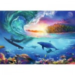Puzzle  Ravensburger-16451 Take the Wave
