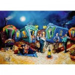 Puzzle  Ravensburger-16458 Beautiful End of Evening