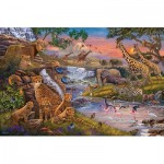 Puzzle  Ravensburger-16465 The Animal Kingdom