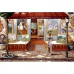 Puzzle  Ravensburger-16466 Fine Arts Gallery
