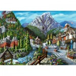 Puzzle  Ravensburger-16481 Welcome to Banff