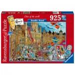 Puzzle  Ravensburger-16554 Brussel
