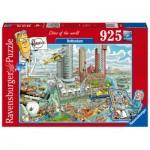 Puzzle  Ravensburger-16555 Rotterdam