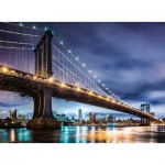 Puzzle  Ravensburger-16589 New York - The City that Never Sleeps