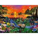Puzzle  Ravensburger-16590 Reef Turtle