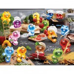 Ravensburger-16608 Jigsaw Puzzle - 2000 Pieces - Gelini : Kitchen Rush
