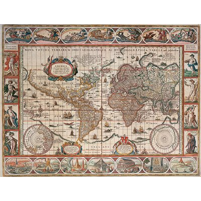 Ravensburger-16633 Jigsaw Puzzle - 2000 Pieces - Ancient World Map