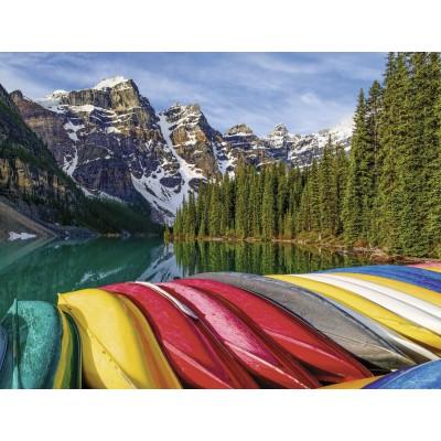 Puzzle Ravensburger-16647 Mountain canoe