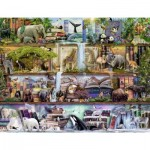 Puzzle  Ravensburger-16652 Aimee Steward - Great Wildlife