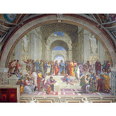 Ravensburger-16669 Jigsaw Puzzle - 2000 Pieces - Raphael : The School of Athens