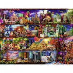 Puzzle  Ravensburger-16685 Aimee Stewart: World of Books