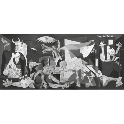 Puzzle Ravensburger-16690 Pablo Picasso : Guernica
