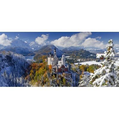 Puzzle Ravensburger-16691 Neuschwanstein Castle