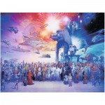 Puzzle  Ravensburger-16701 Star Wars