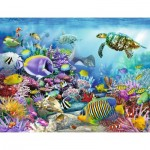 Puzzle  Ravensburger-16704 Majestic Coral Reef