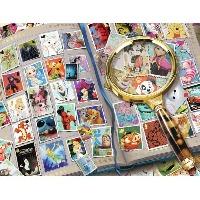 Puzzle Ravensburger-16706 Disney - My Favorite Stamps