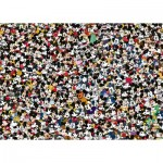 Puzzle  Ravensburger-16744 Challenge - Mickey Mouse